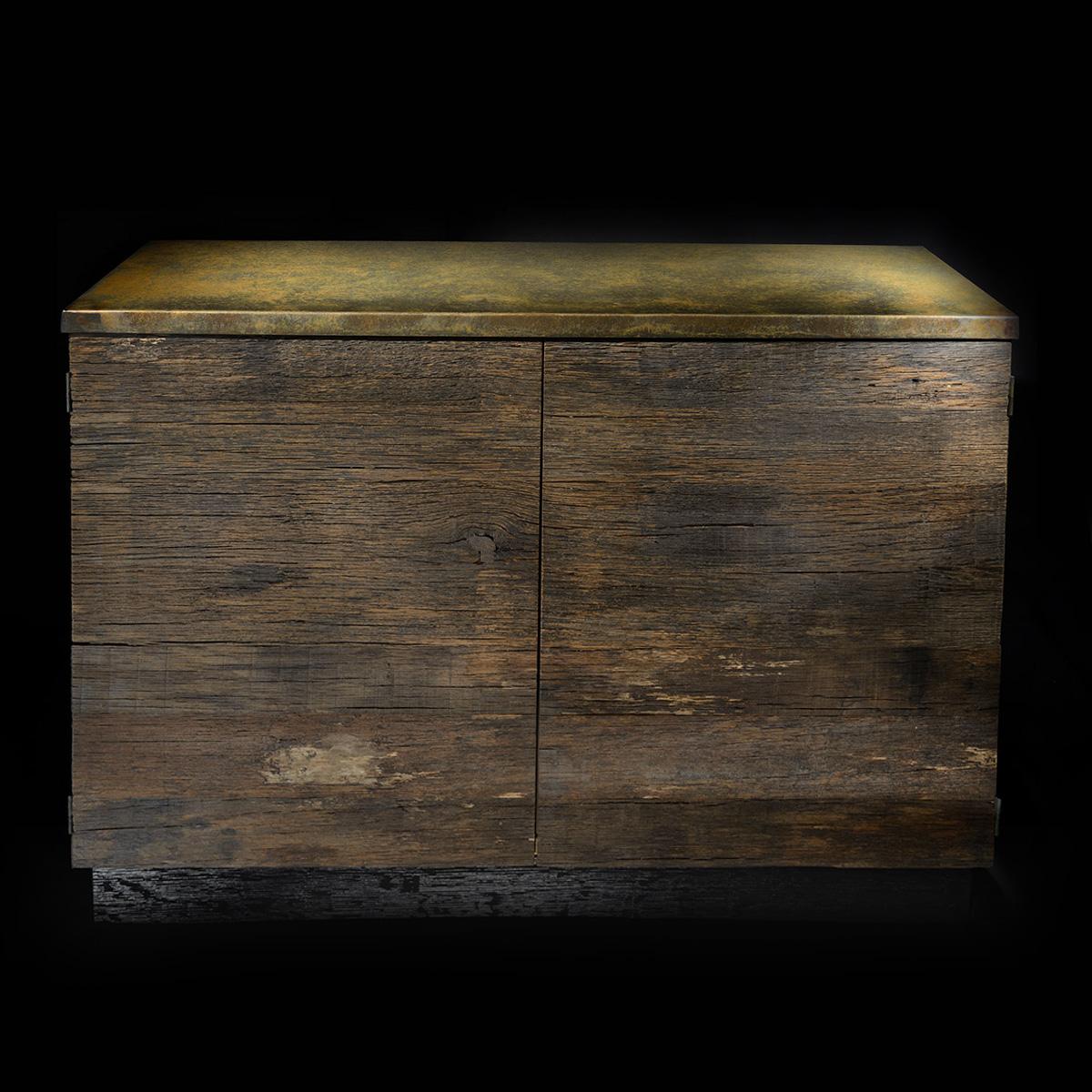 Credenza legno ottono Bernardi